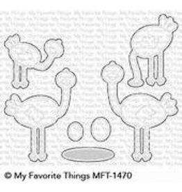 My Favorite Things Oh My Gostrich- Die Set (RETIRED) (25%)