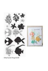 My Favorite Things Adorned Ocean Friends  Clear Stamp Set /Die Bundle (RETIRED) (30%)