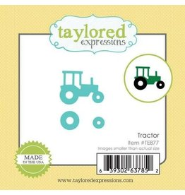 Taylored Expressions Little Bits Tractor - Die