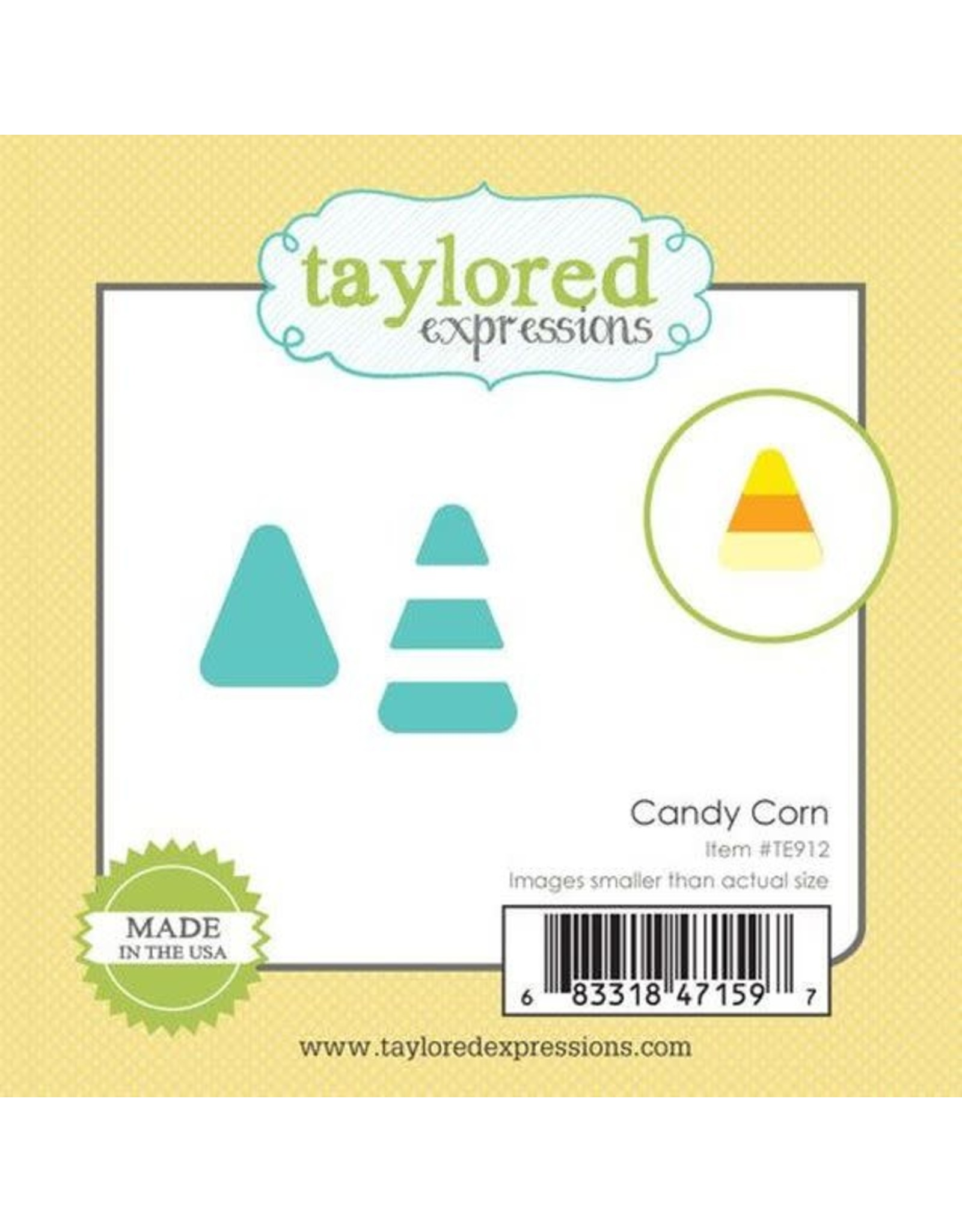 Taylored Expressions Little Bits Candy Corn - Die