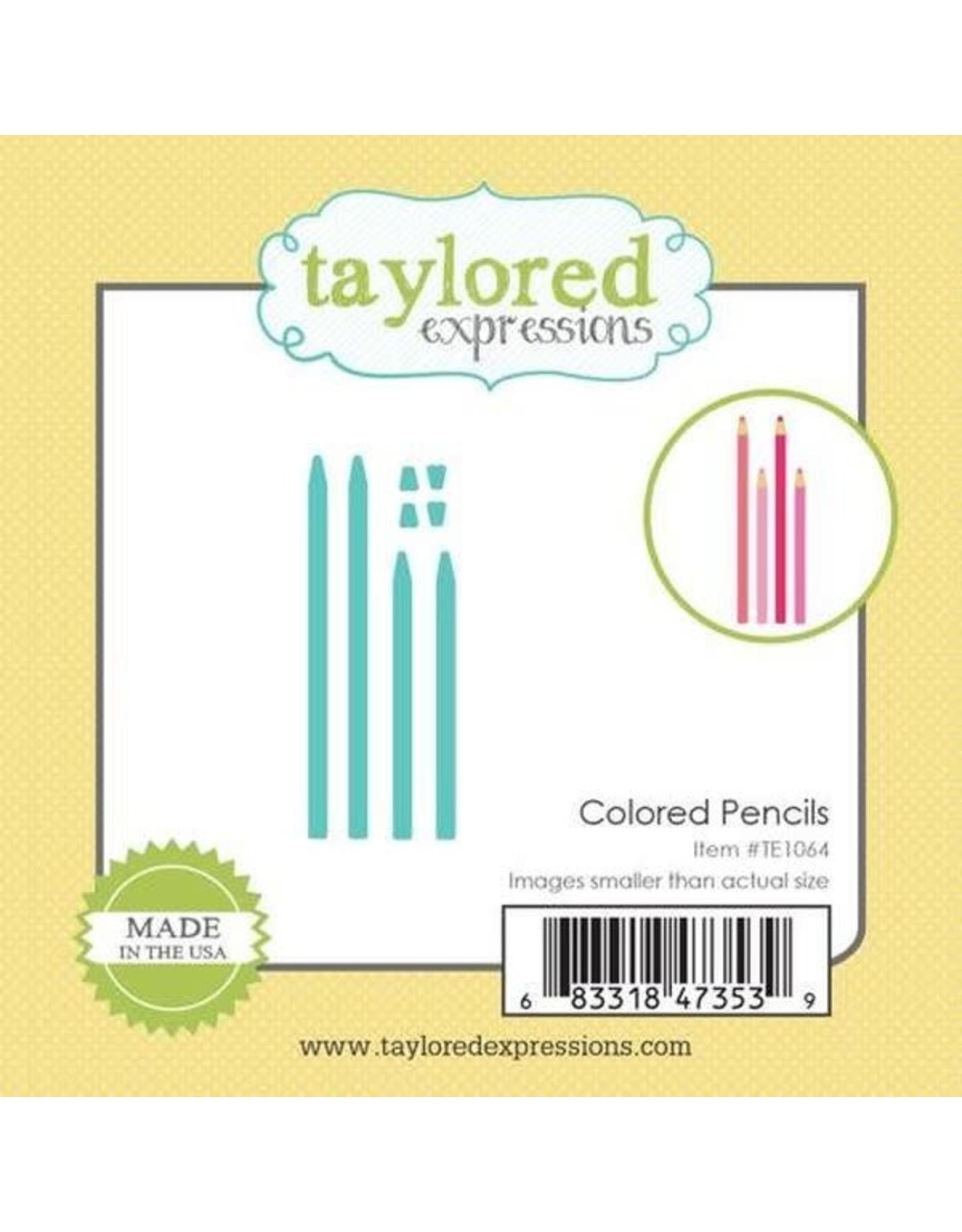 Little Bits Colored Pencils - Dies