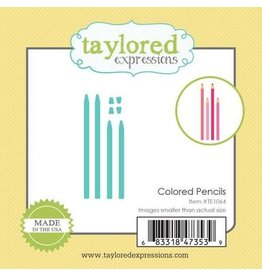 Taylored Expressions Little Bits Colored Pencils - Dies