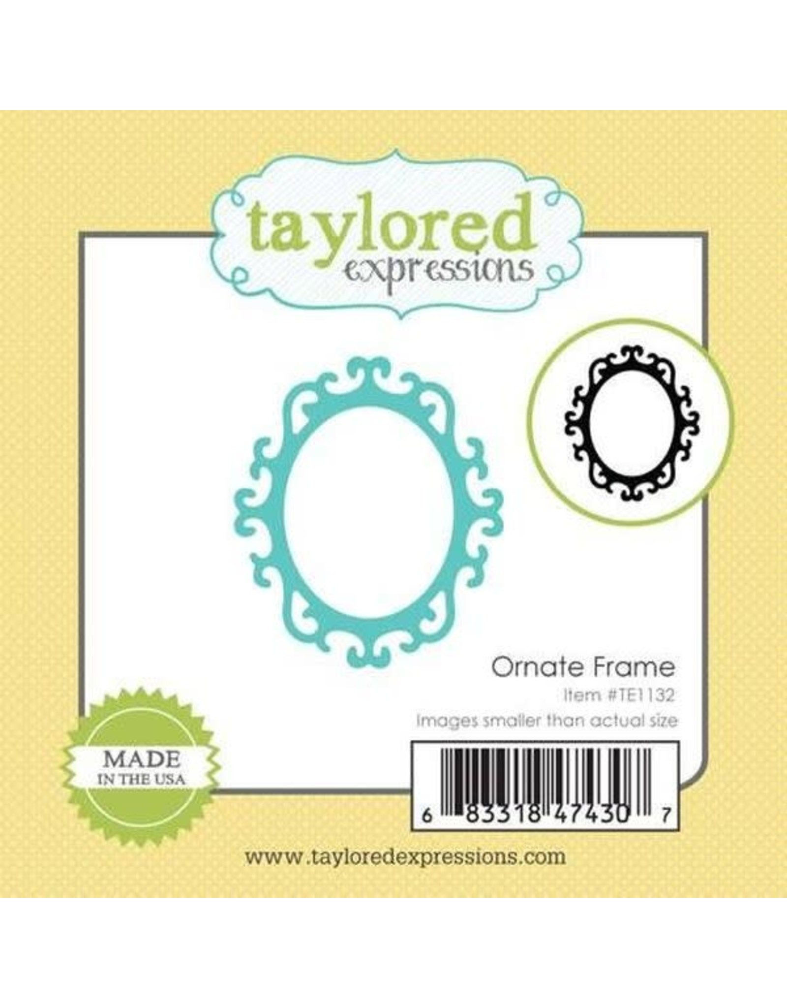 Taylored Expressions Little Bits Ornate Frame - Die