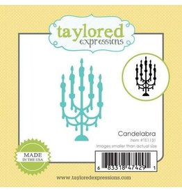 Taylored Expressions Little Bits- Candelabra - Die