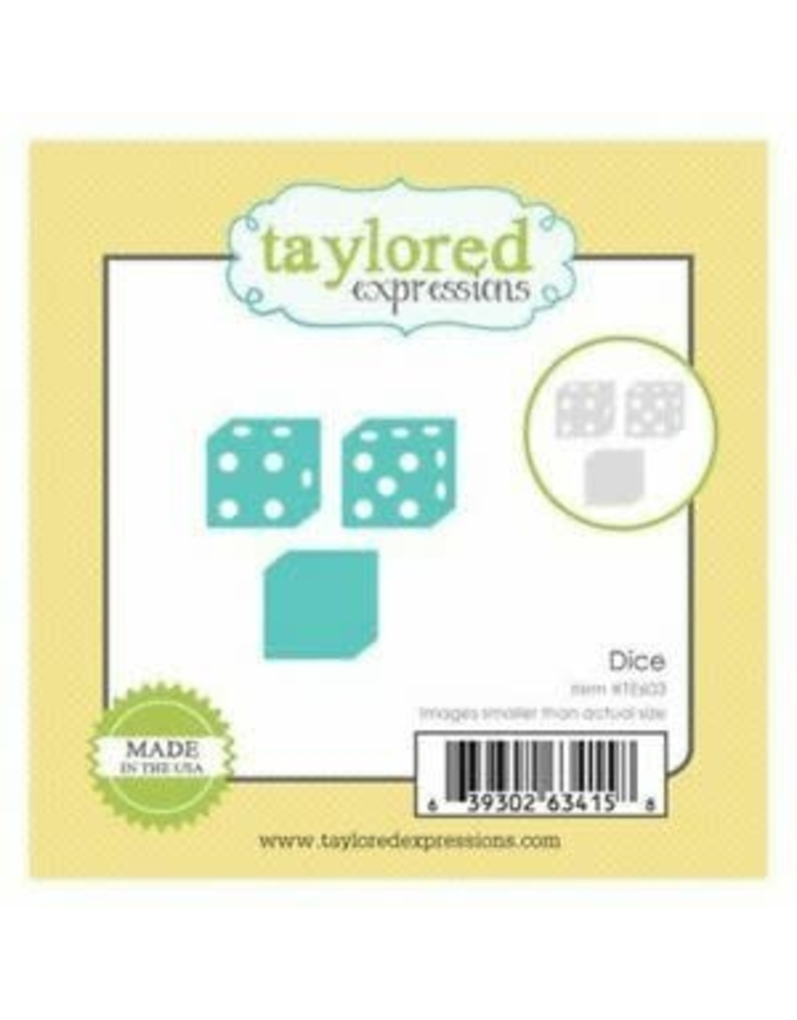 Taylored Expressions Little Bits Dice - Die