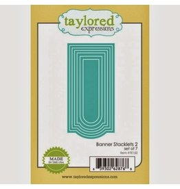 Taylored Expressions Banner Stacklets 2 - Dies (RETIRED) (25%)