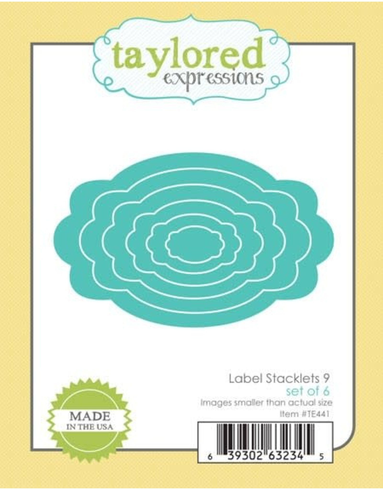 Taylored Expressions Label Stacklets 9 - Dies (RETIRED) (25%)