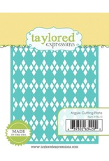 Taylored Expressions Argyle Cutting Plate - Die (RETIRED) (25%)