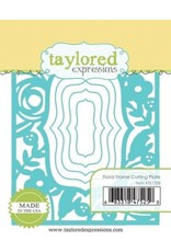 Taylored Expressions Floral Frame Cutting Plate - Die