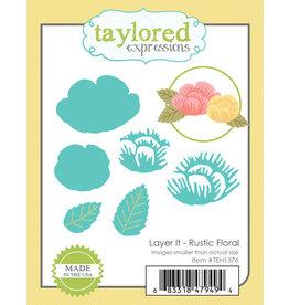 Layer It Rustic Floral - Dies