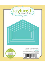 Taylored Expressions Label Stacklets 12 - Die