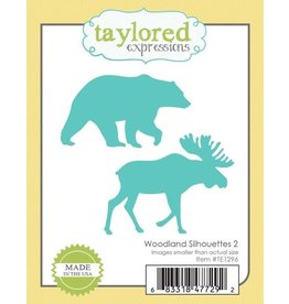 Taylored Expressions Woodland Silhouettes 2 - Dies