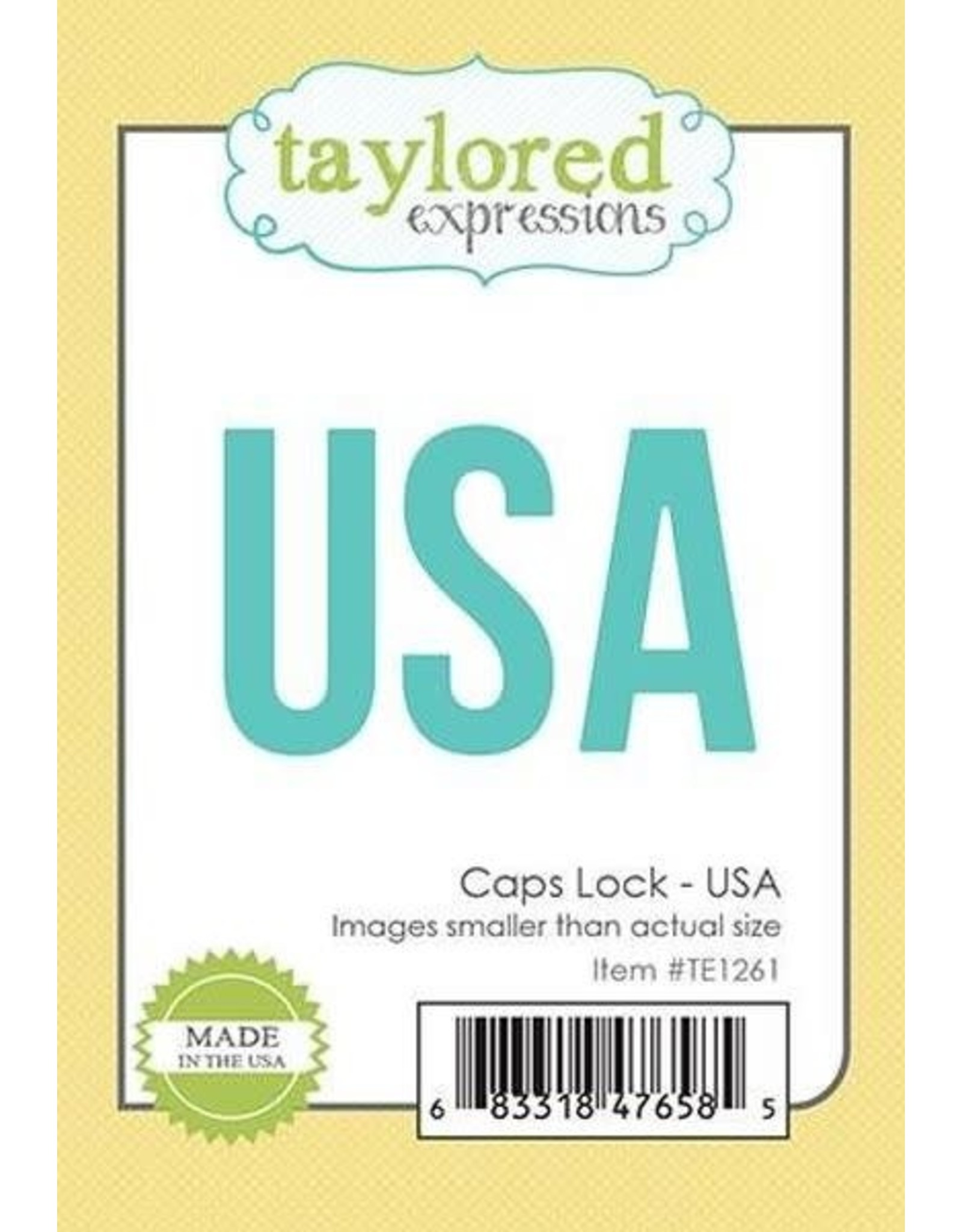 Taylored Expressions Caps Lock USA - Die