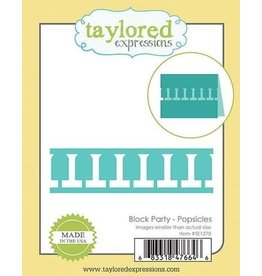 Taylored Expressions Block Party Popsicles - Die