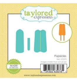 Taylored Expressions Little Bits Popsicles - Die