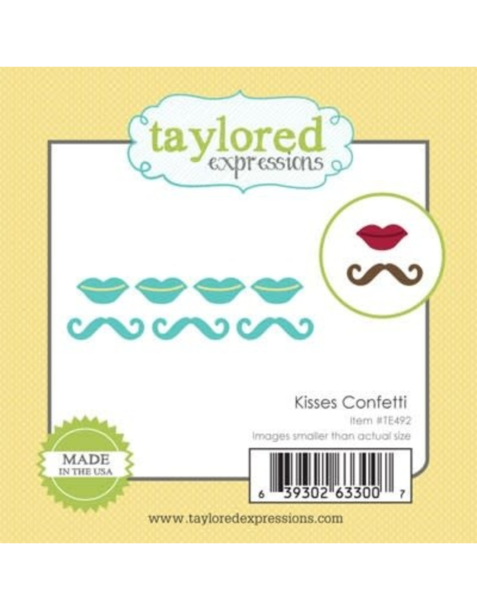 Taylored Expressions Little Bits Kisses Confetti - Die