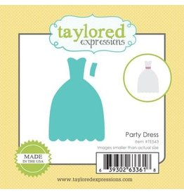 Taylored Expressions Little Bits Party Dress - Die