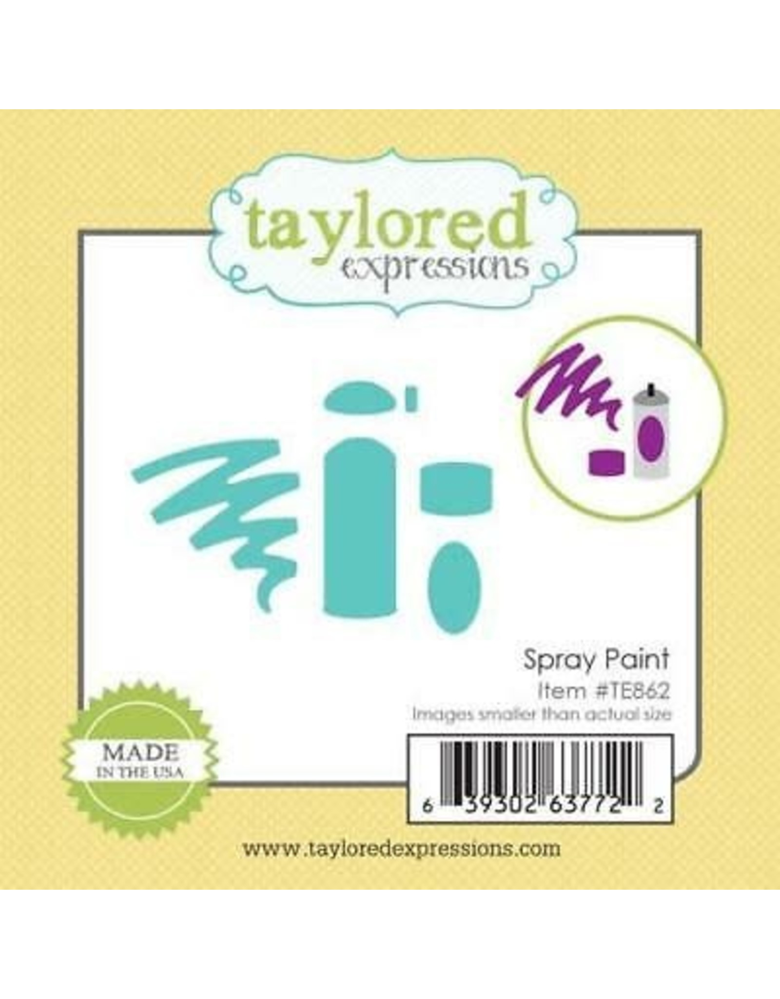 Taylored Expressions Little Bits Spray Paint - Die