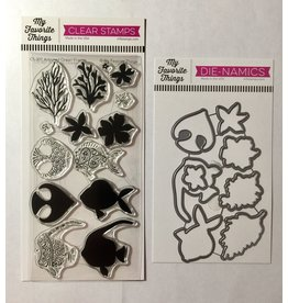 My Favorite Things Adorned Ocean Friends  Clear Stamp Set /Die Bundle (RETIRED) (30%)