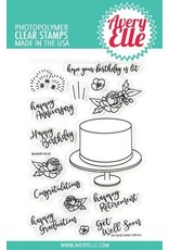 Avery Elle Cake For All Clear Stamps & Dies Bundle (RETIRED) (30%)