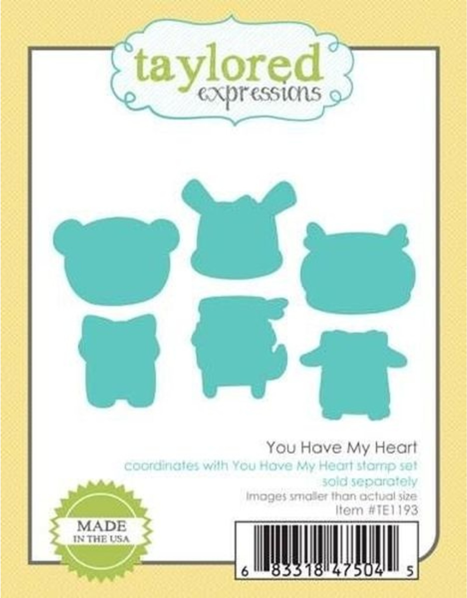 You Have My Heart - Cling Stamp Set