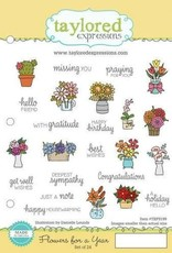 Flowers For a Year - Cling Stamps