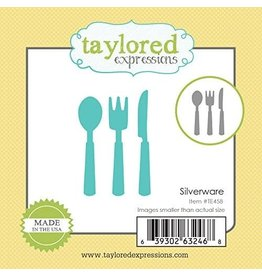 Taylored Expressions Little Bits Silverware - Die