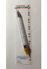 Paws-Itively Pawsome Designs Jewel Pick-Up Pen - Clear