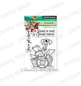 Penny Black Friendship (Mini) - Clear Stamp Set