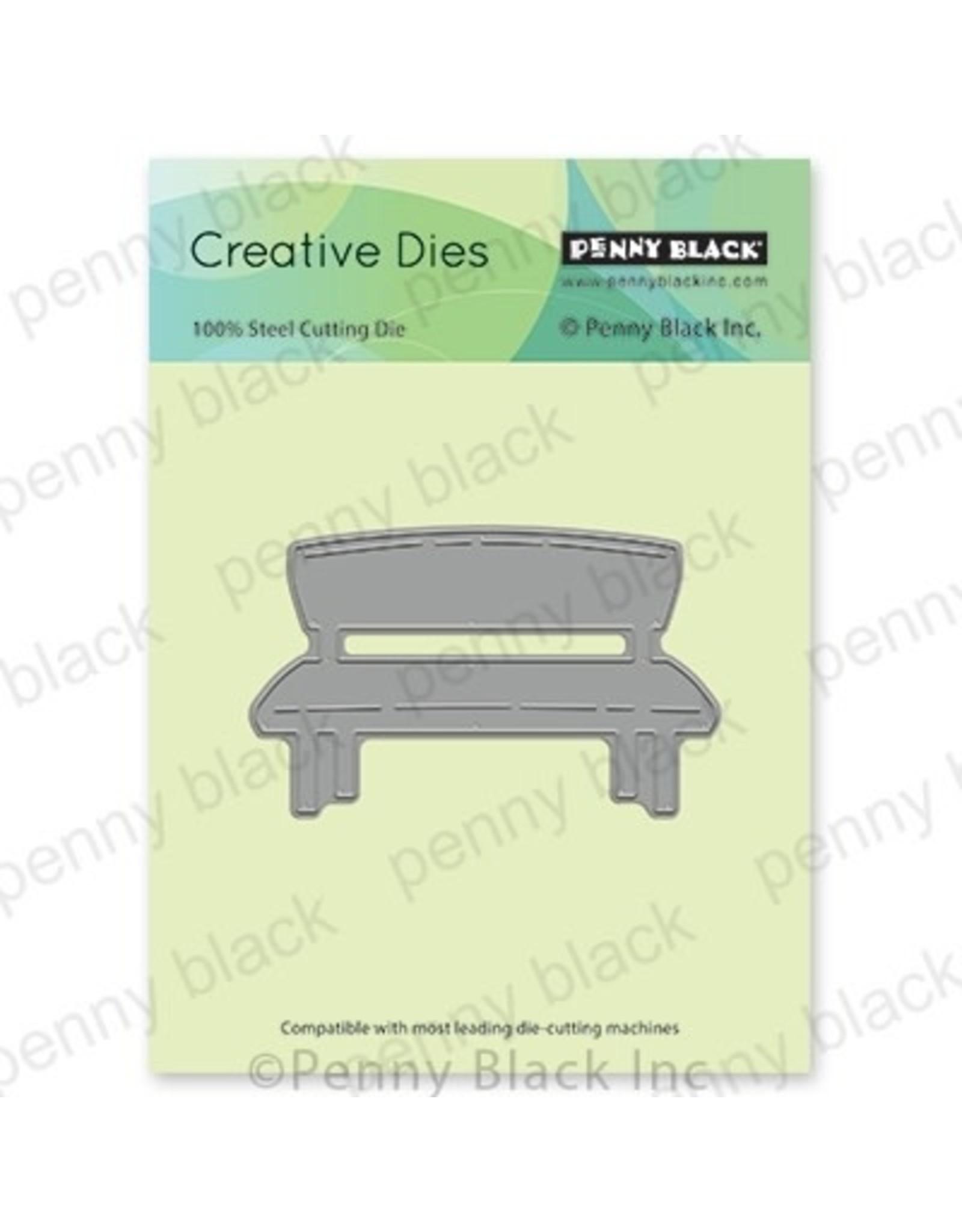 Penny Black Bench - Die