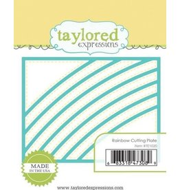 Taylored Expressions Rainbow Cutting Plate - Die