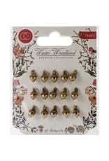 Craft Consortium Winter Wonderland Acorn Metal Charms