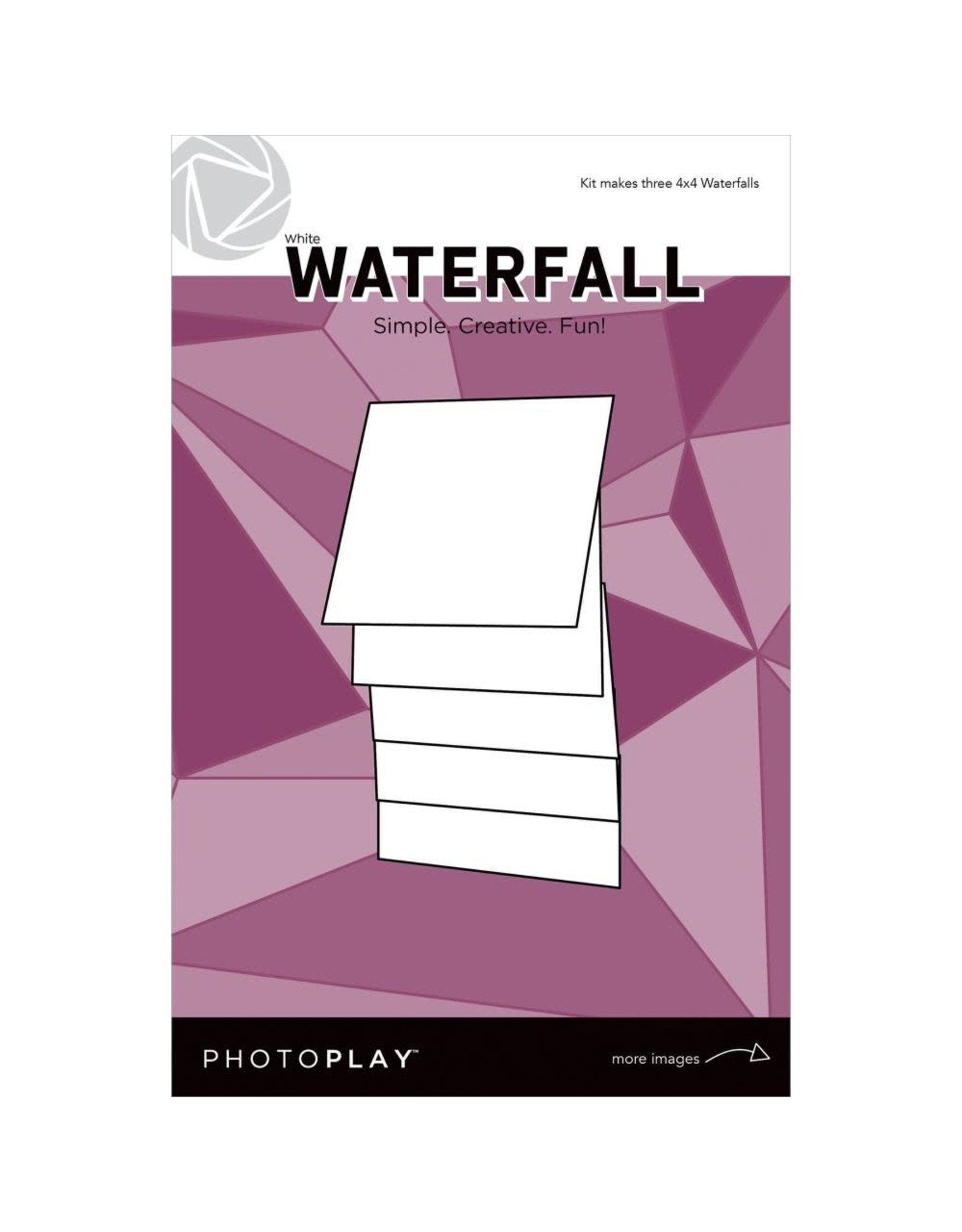 Photo Play Makers Series - 4x4 Manual White Waterfall