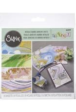Ellison/Sizzix Metallic Marble Adhesive Sheets 6x6