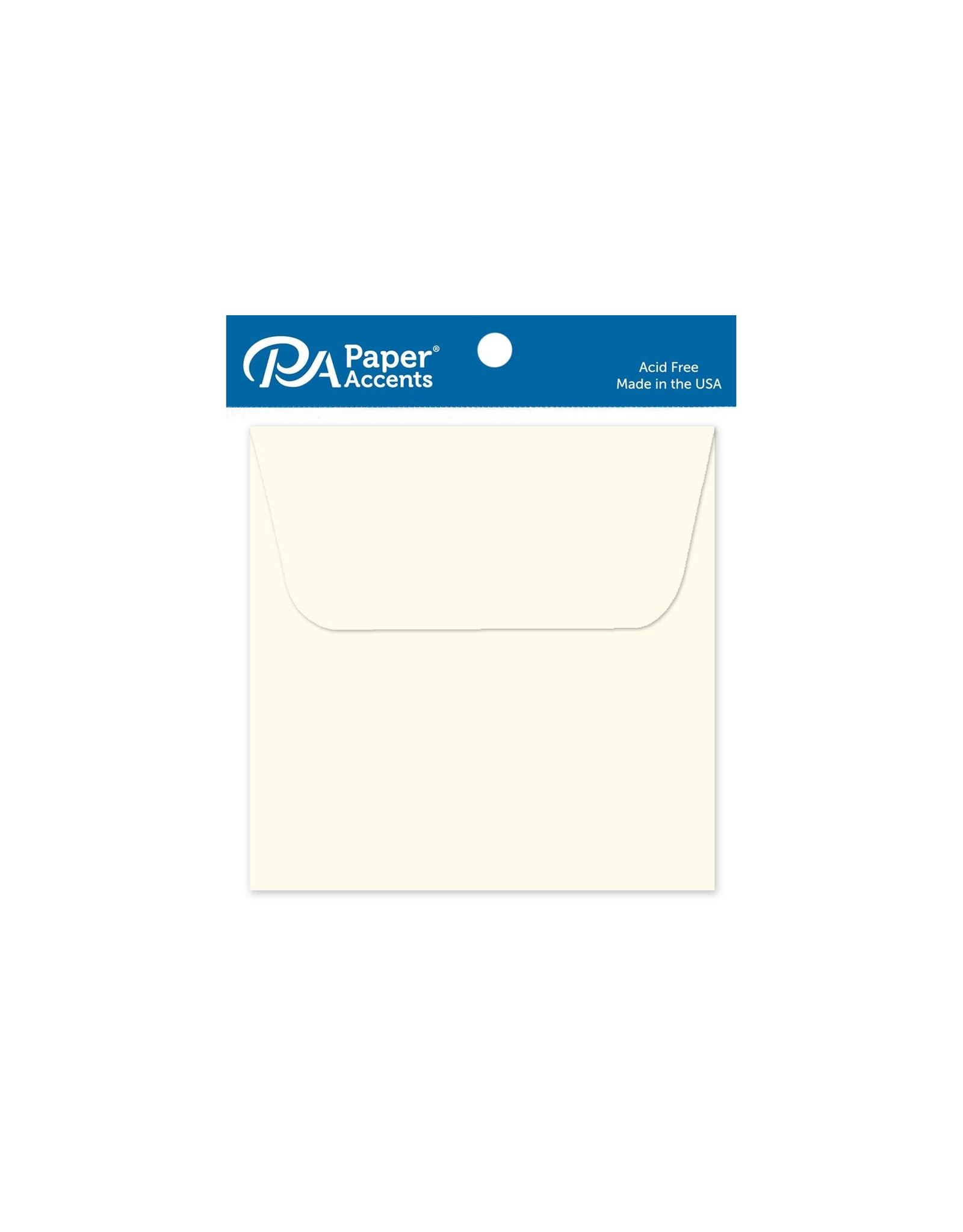 AD Paper Envelopes 3x3 10pc cream