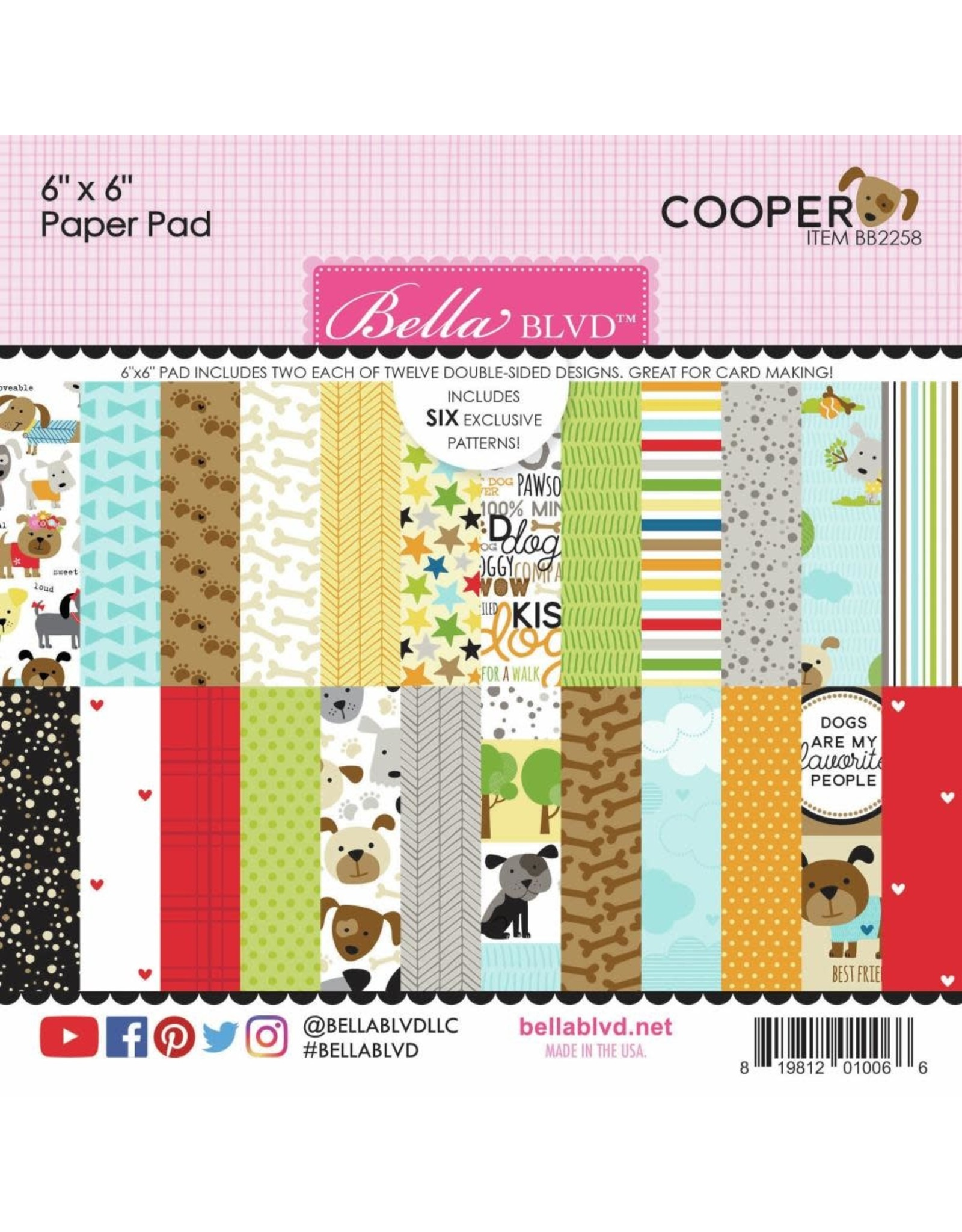 Bella Blvd Cooper 6x6 Paper Pad