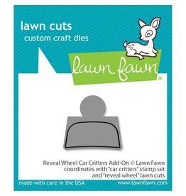 Lawn Fawn Reveal Wheel Car Critters - -Add-on Die