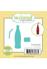 Taylored Expressions Little Bits Soda Bottle - Die