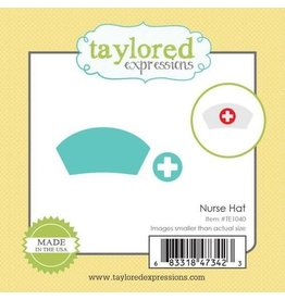 Taylored Expressions Little Bits Nurse Hat - Die