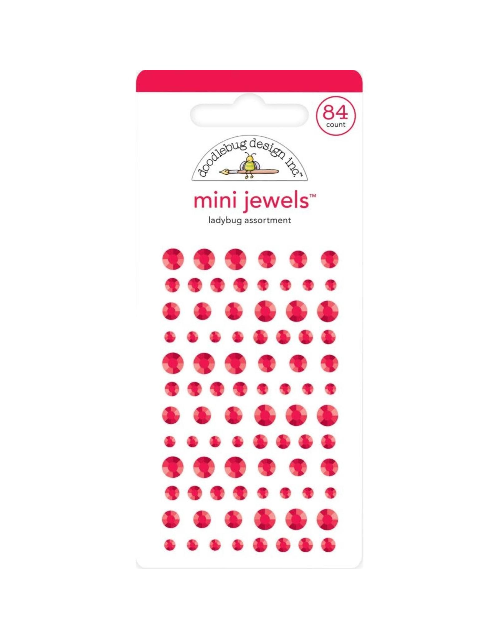 Doodlebug Design Inc. Doodlebug Adhesive Mini Jewels - Ladybug