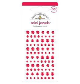 Doodlebug Design Inc. Doodlebug Adhesive Mini Jewels - Ladybug