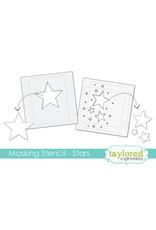 Taylored Expressions Stars - 6x6 Designer Masking Stencil