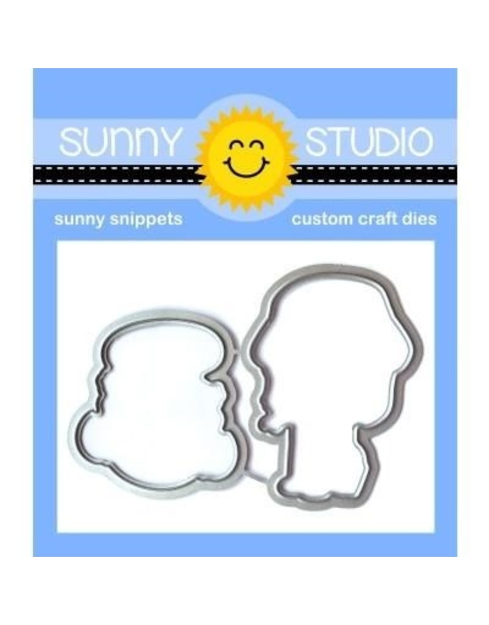 Sunny Studio Coastal Cuties - Clear Stamp Set