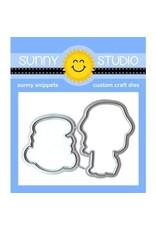 Sunny Studio Coastal Cuties - Die Set
