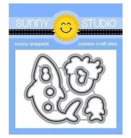Sunny Studio Sea You Soon - Die Set