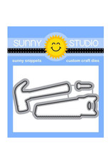 Sunny Studio Tool Time - Clear Stamp Set