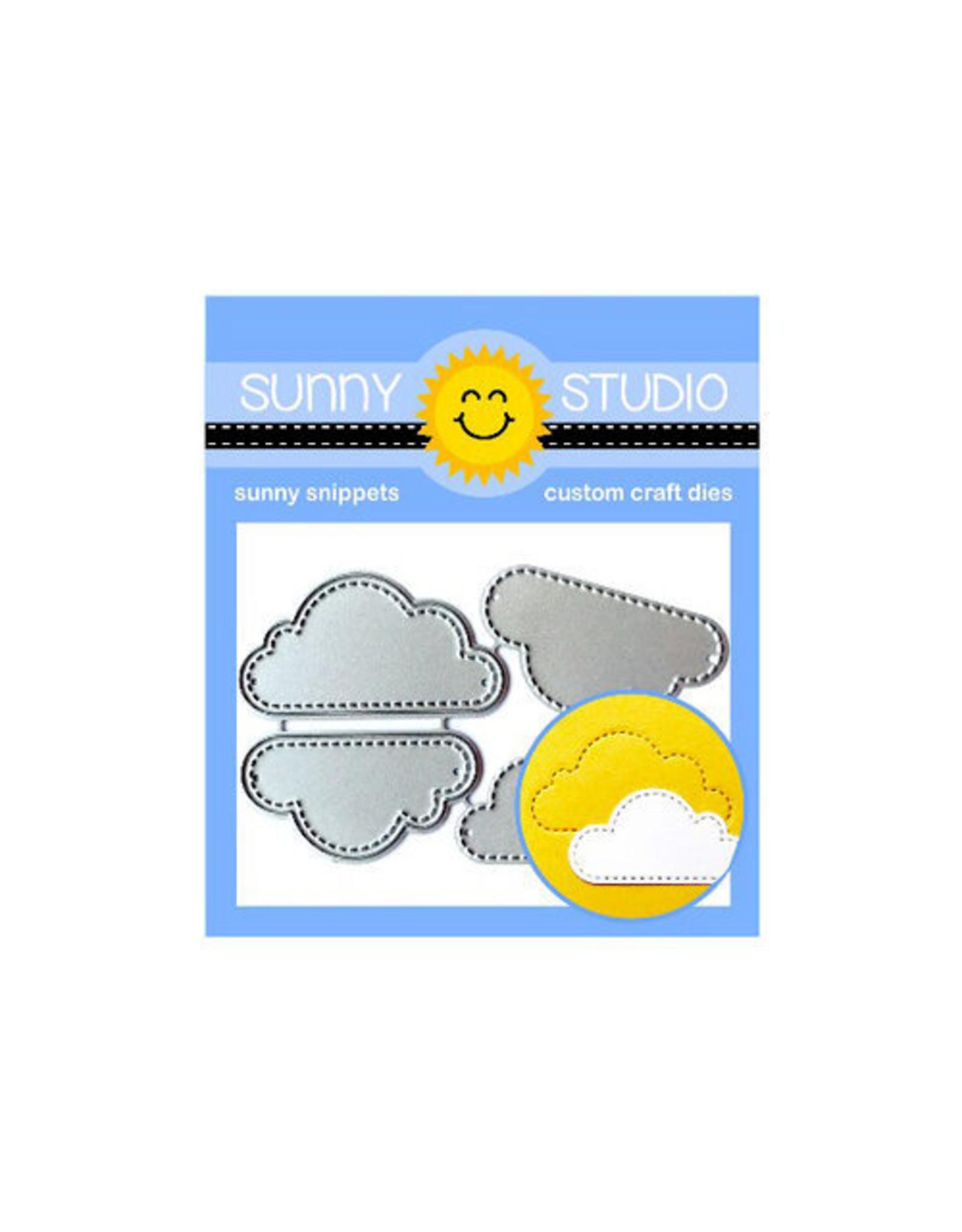 Sunny Studio Fluffy Clouds -Dies