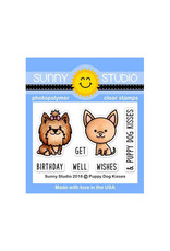 Sunny Studio Puppy Dog Kisses - Clear Stamp Set