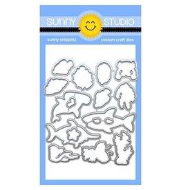 Sunny Studio Best Fishes - Die Set  (SS)