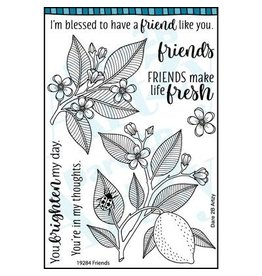 Dare 2B Artzy Friends - Clear Stamp Set